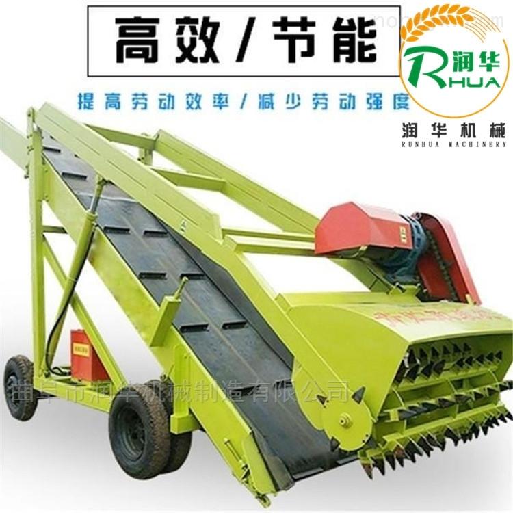 畜牧机械青贮取料机 链条式取草机