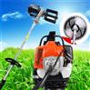 清理果园杂草用割草机 小型背负式除草机