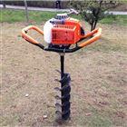 刨坑栽树机 提土打眼钻坑机 手推车架挖坑机