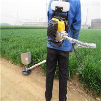背负式割草机 不锈钢圆盘收割机 菜园除草机
