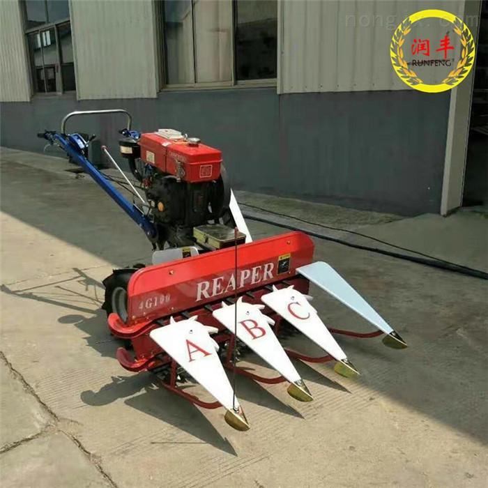 新款芦苇收割机 家用稻谷割晒机