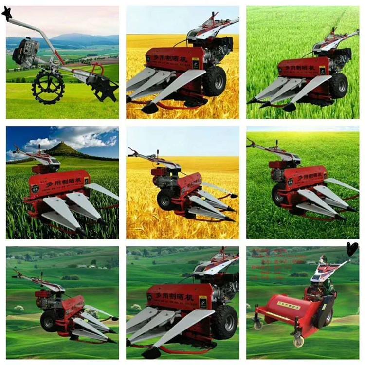 小麦专用割晒机新型手扶收割机