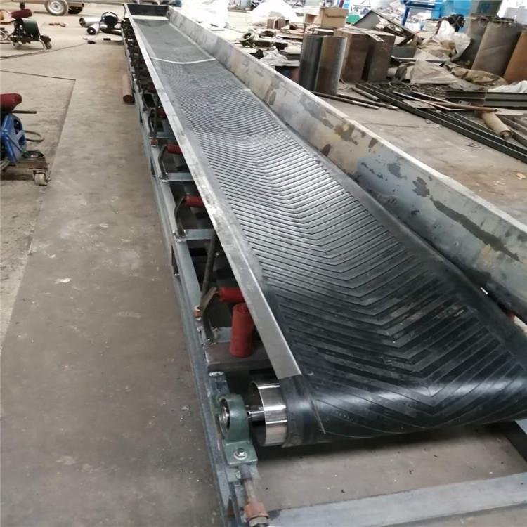 挡板式胶带输送机,土方回填用带式传送机