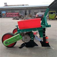 玉米免耕播种机拖拉机扣膜点播机