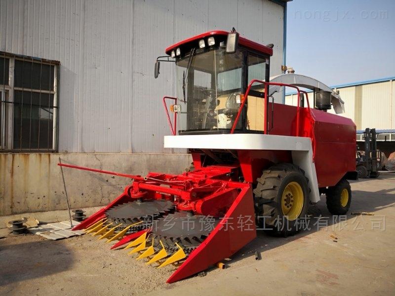 豫东农牧自走式青贮玉米收割机秸秆机