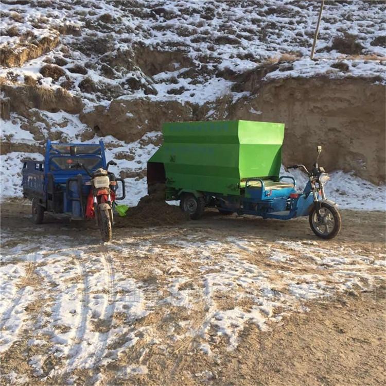 母亲节为家人添置电动撒料车 喂料机