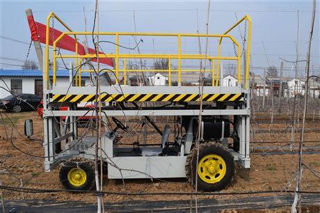 果園用輪式液壓導軌升降作業平臺