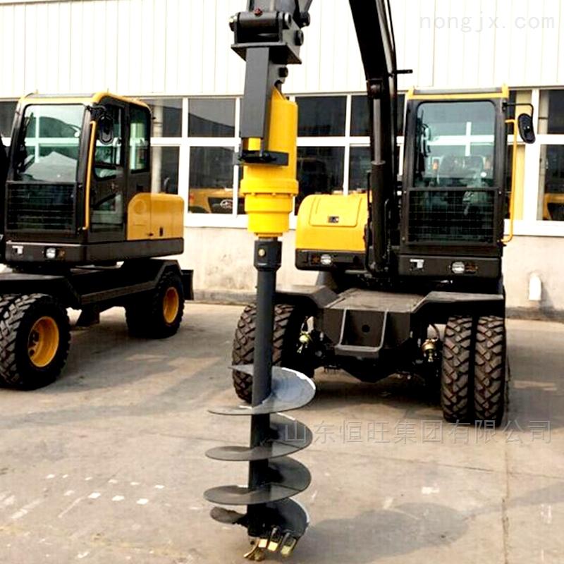 3-10米挖掘机改打桩机
