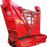液压式自卸式秸秆回收机