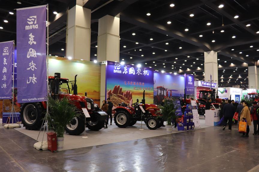 2019全国千赢国际城展:东风千赢国际城多款拖拉机与专用油亮相