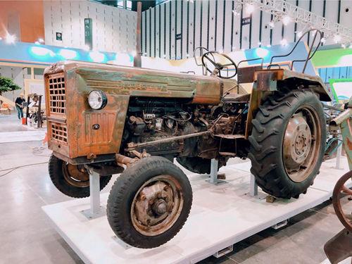 2019江蘇農機展:舊農機展示