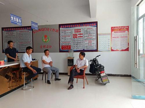 安徽:蒙城县立仓镇秸秆禁烧工作力度只增不减