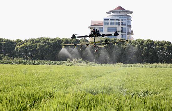 讓植保無人機在江甦農業病蟲防治中大顯身手