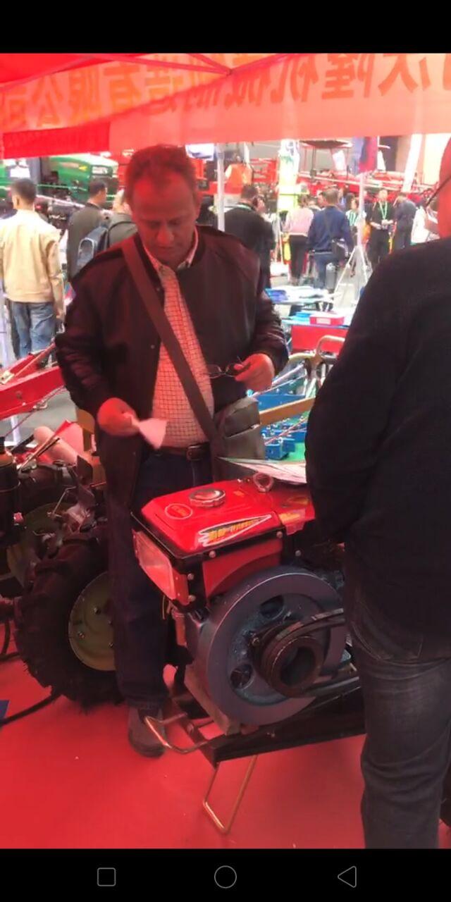 兴农科技携产品参加农机展圆满成功